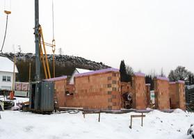 Andreasberg, Oben auf der Wiemhufe, Maurerarbeiten