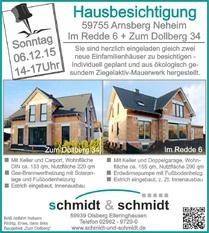 Hausbesichtigung Schmidt & Schmidt